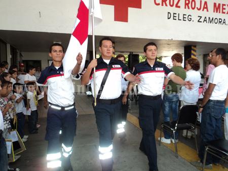 Cruz Roja no alcanzó la meta de 200 mil pesos en colecta anual