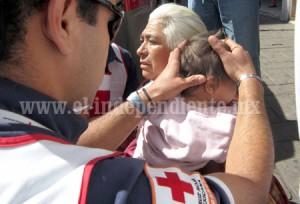 ZAMORA abuela y nieta embestida por un motorepartidor (2)