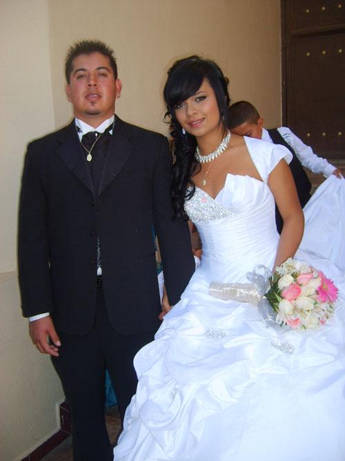 Ana Karen Romero y Francisco Pimentel
