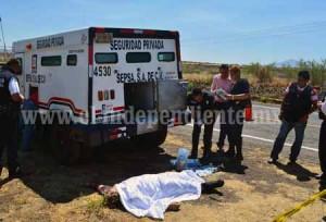 LA PIEDAD Asaltan camioneta de valores y matan a tres custodios (4)