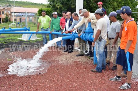 En pleno funcionamiento la perforación de Prados Verdes de Sahuayo