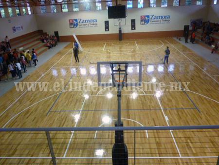 Dan a conocer reglamento de uso del auditorio de la unidad deportiva El Chamizal