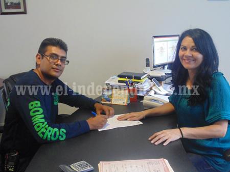 Diputada Kena Méndez fortalece operatividad de Bomberos Municipales