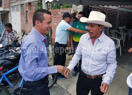 Ejidatarios de Los Limones agradecen planta tratadora al alcalde Toño Salas