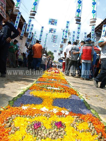Más de 7 mil personas acudieron a la fiesta de Cristo Rey en Patamban