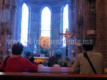Arrancaron festividades en Santuario Guadalupano