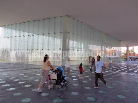 Retrasan inauguración de la Galería de Cristal del CRAM