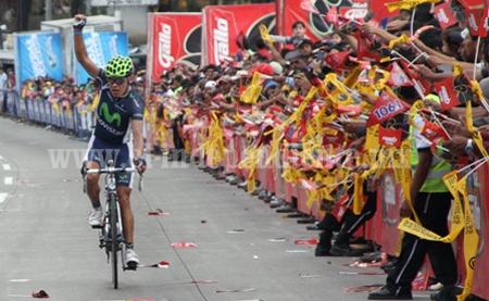 Jesús Ortiz Frausto ganó la quinta y última etapa de la Vuelta Ciclista Internacional Michoacán 2013