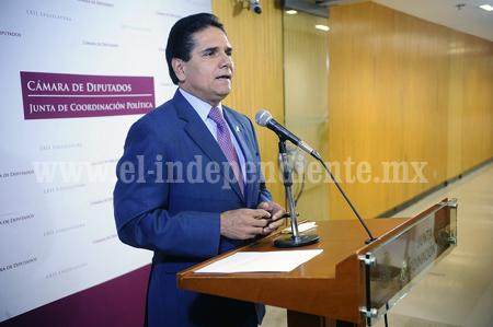 Urge conocer estrategia de rescate para Michoacán: Silvano