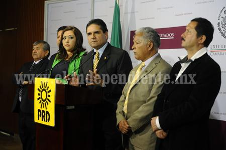 Exige Silvano dejar de experimentar con Michoacán