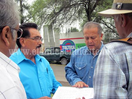 Sin concretarse entrega de la administración del ejido Venustiano Carranza.