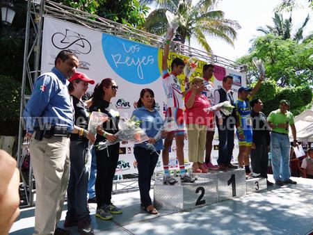 Los Reyes fue anfitrión de la Vuelta Ciclista Internacional Michoacán