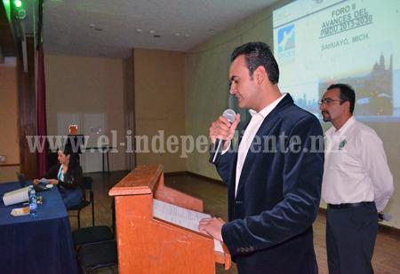 Urbanística realizó foro sobre el plan de desarrollo municipal