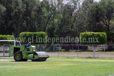 Gobierno de Venustiano Carranza rehabilita espacios deportivos
