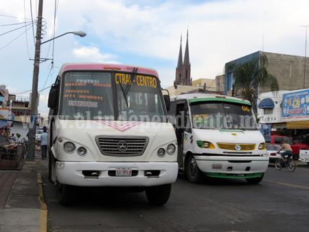 Transportistas descartan aumento en tarifa de pasaje