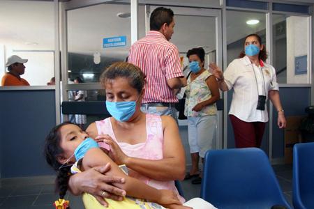 Frentes fríos elevan al doble casos de enfermedades respiratorias