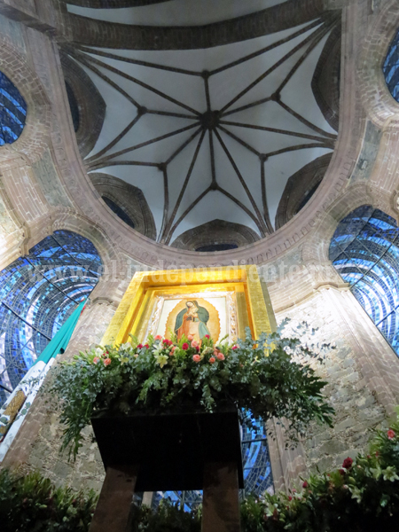 Miles acudieron al Santuario Guadalupano