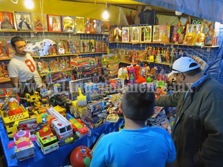 Aplicarán operativo para dar garantías a visitantes de la Feria del Juguete