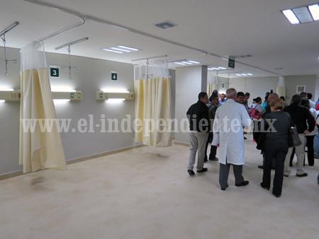 Concluyó ampliación del área de urgencias en la clínica 4 del IMSS