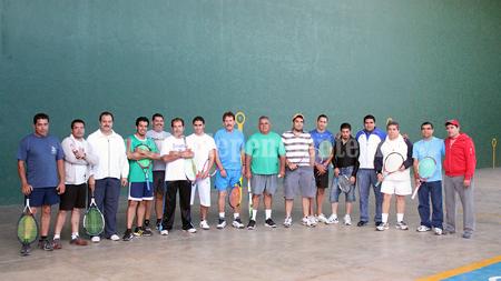 Termina el torneo navideño de frontenis de Sahuayo
