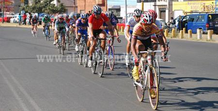 Ciclistas de ruta empezaron su camino rumbo a la Olimpiada Nacional 2014