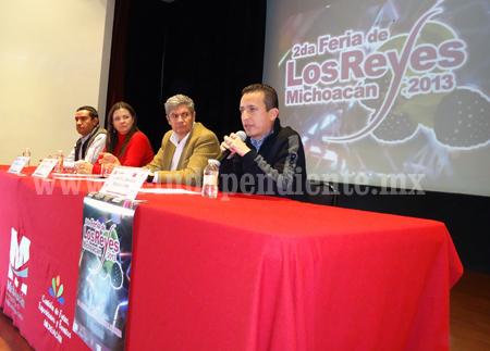 Anuncian a nivel estado la Feria Los Reyes 2013