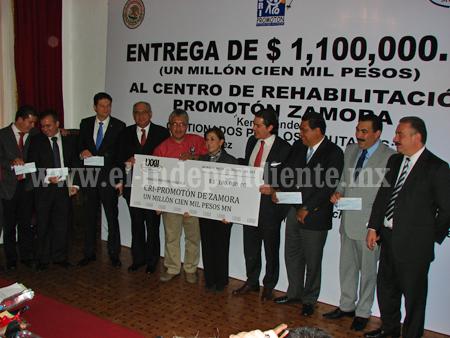 Recibió PROMOTÓN 1 millón 100 mil pesos, gestión lograda por Kena Méndez