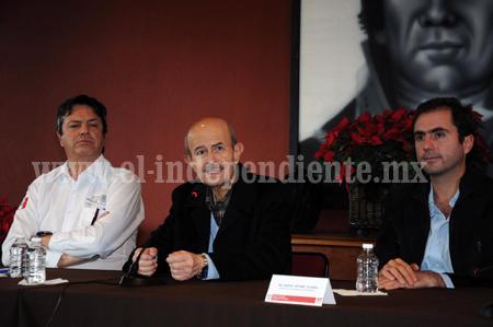 Hoy estará de visita Fausto Vallejo para inaugurar acceso al CBTA de Ario de Rayón