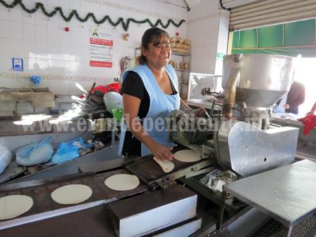 Precio bajo del grano compensó la situación para tortilleros