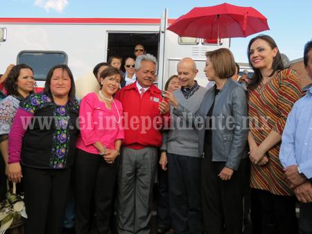 Hospital Regional de Zamora recibió ambulancia totalmente equipada