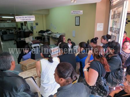 Se acaban las tarifas de servicios urgentes en Registro Civil