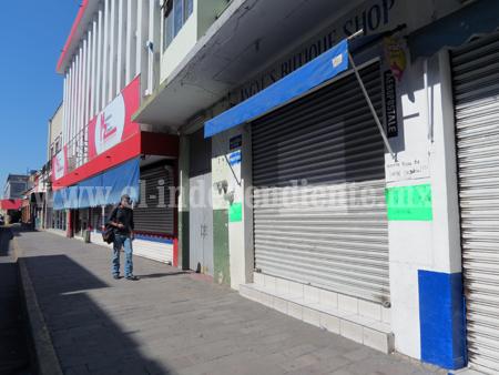 Cierre de 11 negocios dejó sin empleo a 44 personas