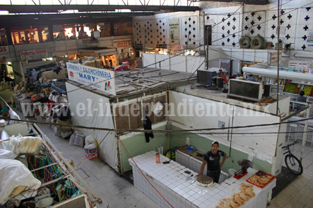 Ofrecerán opciones de mudanza para comerciantes del Mercado Hidalgo