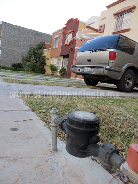 Buscarán llegar a 15 mil medidores de agua potable en zona urbana
