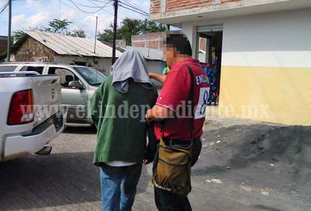 Rescatan a agricultor secuestrado; detienen a dos presuntos responsables