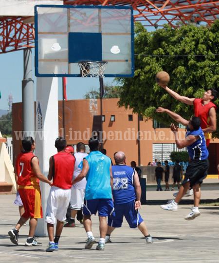 Intensa la actividad en la Liga DIA de Basquetbol de Zamora