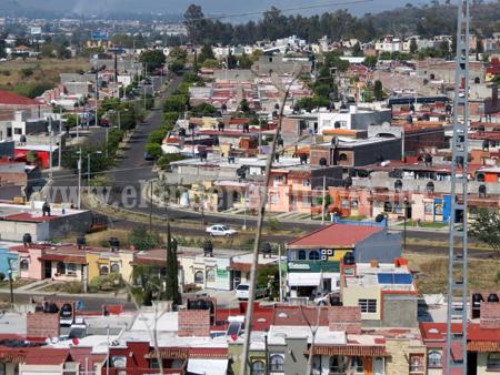 Ex Hacienda El Refugio, Jardines de Catedral y el poniente zonas riesgosas