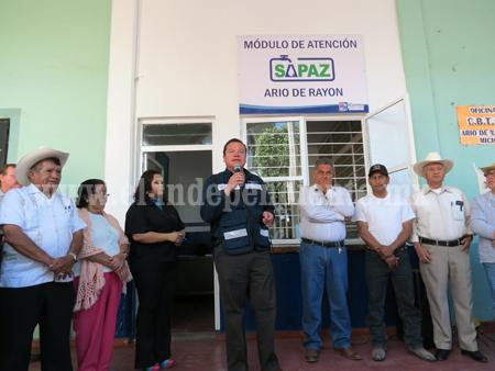 SAPAZ descentralizó pago de agua potable