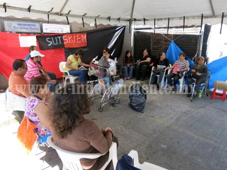 Huelga paraliza juzgados; sindicato exige mejoras laborales