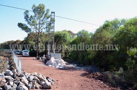 Zamora esperará determinación de CONAGUA para continuar con perforación de pozos