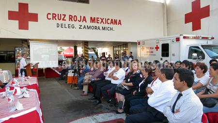 Próxima capacitación en Cruz roja para TUM inicia el 15 de febrero