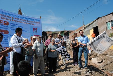 Más de 3 mil habitantes de  Antorcha Campesina en Jacona contarán  con agua potable