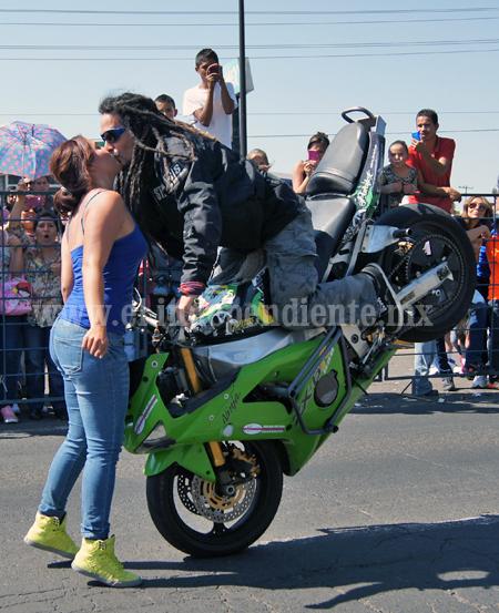 Con éxito se realizó la XI Reunión Anual de Motociclismo Zamora 2014