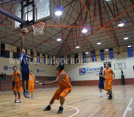 Zamora sigue con buen paso en el Torneo Estatal de Basquetbol