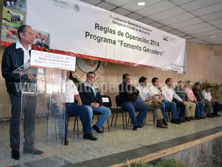 En Sahuayo presentaron las reglas de operación SAGARPA 2014