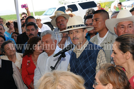 Gobernador se compromete gobernador a impulsar proyectos de infraestructura social en Venustiano Carranza