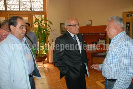 Nicolás Cibrián busca recursos para atacar las principales problemáticas del municipio