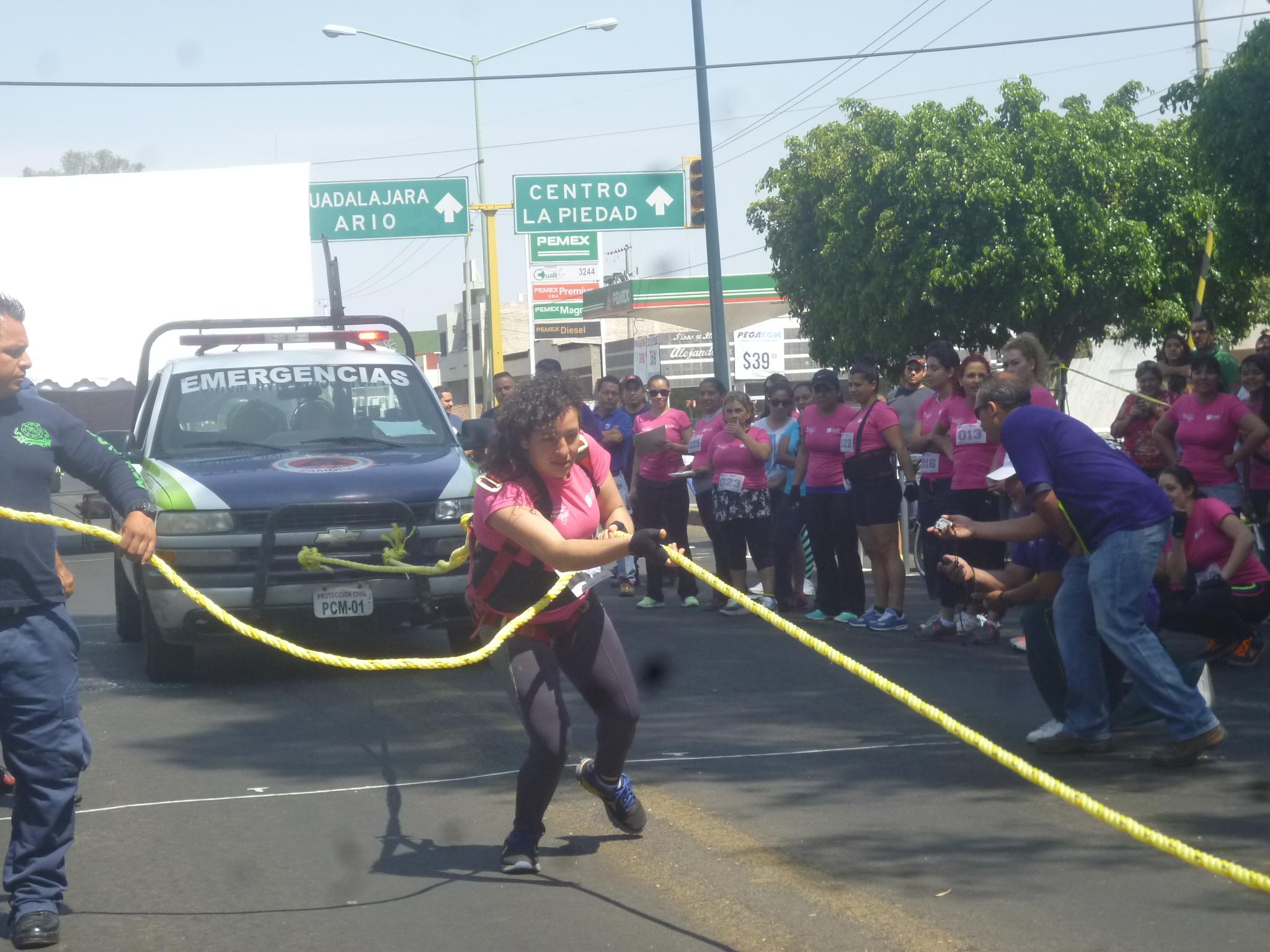 ¡La Mujer más fuerte de Zamora es Laura Carolina Gómez..!