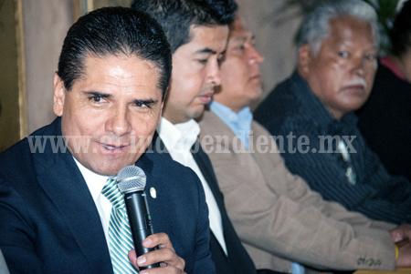 El reto de la federación es dar certeza a los michoacanos: Silvano