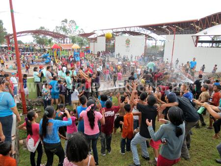 Más de 12 mil niños asistieron al festejo del Día del Niño